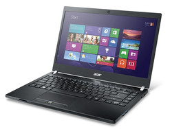 Acer TravelMate P645-S-58HK. Test model courtesy of Cyberport.de
