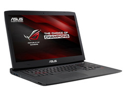 In review: Asus G751JY. Test sample courtesy of Nvidia Germany.