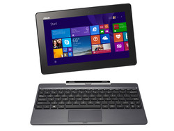 The Asus Transformer Book T100TAL-DK021P. Test model provided by Notebooksbilliger.de