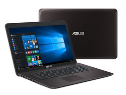 In review: Asus F756UX-T7013T. Test model courtesy of Notebooksbilliger.de