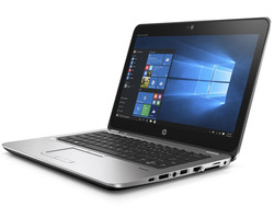 In review: HP EliteBook 725 G3. Test model provided by Notebooksbilliger.de