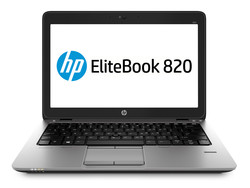 The HP EliteBook 820 G2. Test model courtesy of HP Germany.