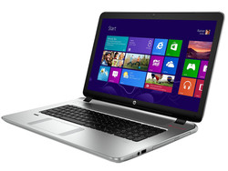 The HP Envy 17-k203ng. Test model provided by Cyberport.de