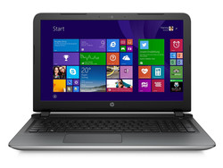 In review: HP Pavilion 15-ab022ng. Test model courtesy of HP Store.