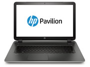 In review: HP Pavilion 17-f130ng. Test model courtesy of Notebooksbilliger.de