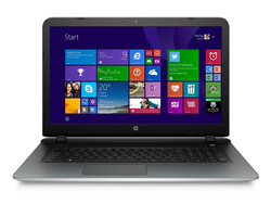 In Review: HP Pavilion 17-g013ng. Test model courtesy of HP Germany.