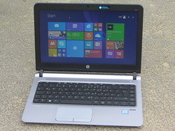 In review: HP ProBook 430 G3. Test model provided by Cyberport.de
