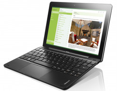In review: Lenovo IdeaPad Miix 300-10IBY. Test model courtesy of Lenovo Germany.