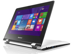 In review: Lenovo Yoga 300-11IBR. Test model courtesy of notebooksbilliger.de