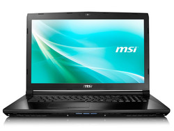 In review: MSI CX72-7QLi581. Test model provided by Notebook.de.