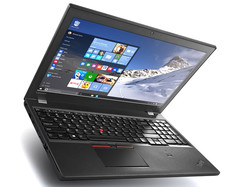 Great battery life: Lenovo ThinkPad T560 with two batteries and up to 116 Wh