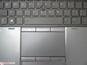 Touchpad with TrackPoint and 6 buttons