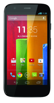 ...hardware for an affordable price - the Moto G.