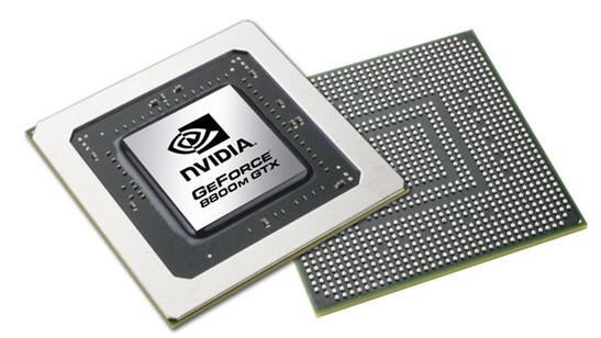 nVIDIA Geforce 9800M GTX