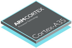 ARM Cortex-A35 64-bit mobile processor is now official