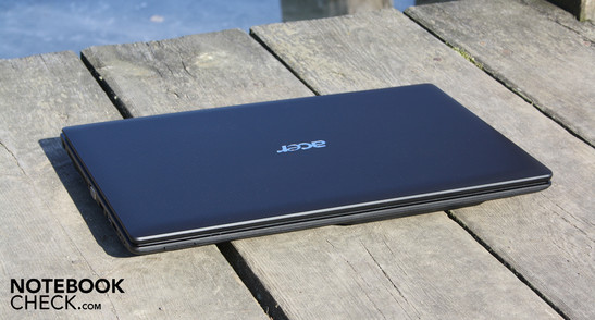 Acer Aspire 5253-E352G32Mnkk: Little performance but good battery life and minimal emissions