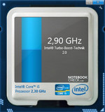System Properties Intel Turbo Boost Widget