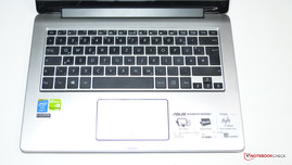 ASUS Transformer Book Flip keyboard