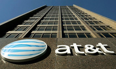 AT&T headquarters and corporate logo, AT&T to shut down EDGE network by 2017