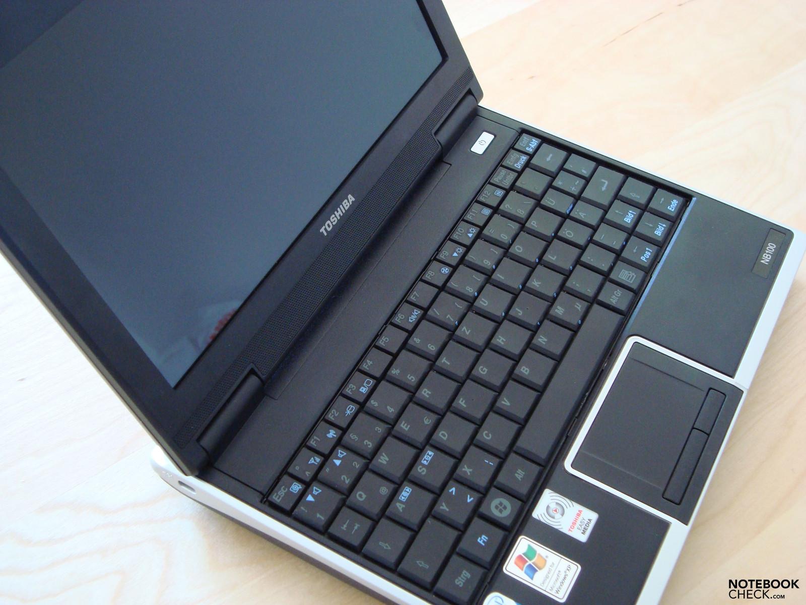 Toshiba NB100 laptop drivers for Windows 10 x64