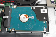 The hard drive is very easy to replace.