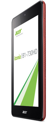 The Acer Iconia One 7 is available in four different colors.