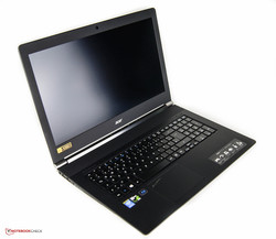 Acer Aspire V 17 Nitro. Test model courtesy of Notebooksbilliger.de