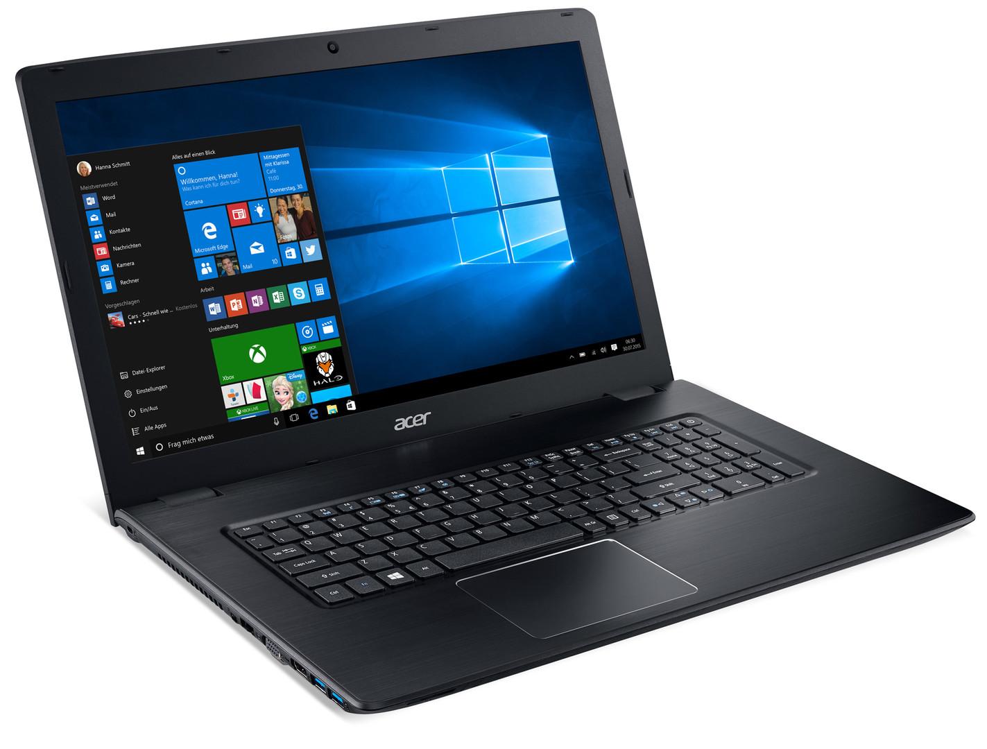 Acer Aspire E5-774G-78NA (GeForce 940MX GDDR5) Notebook