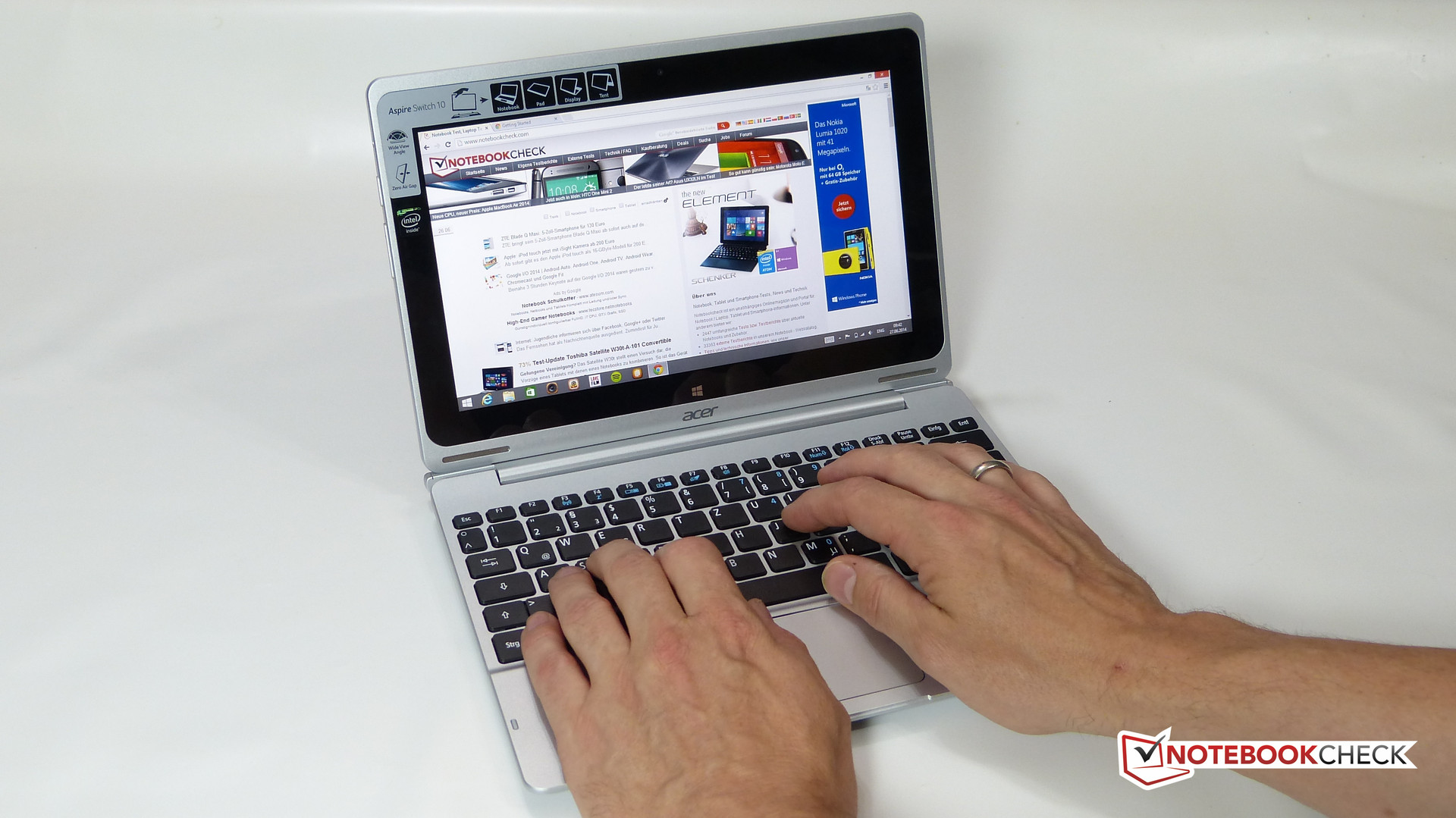 Acer Aspire Switch 10 Sw5 011 12vu Convertible Review