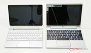 Acer Iconia W510 next to Acer Aspire Switch 10.