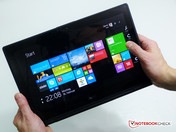 Acer Aspire Switch 12 classic landscape tablet.