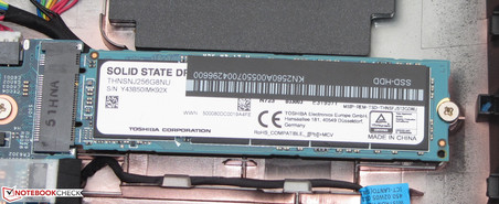 An SSD as system drive.