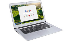 Acer Chromebook 14 with aluminum chassis and Intel Atom N3060 Braswell processor