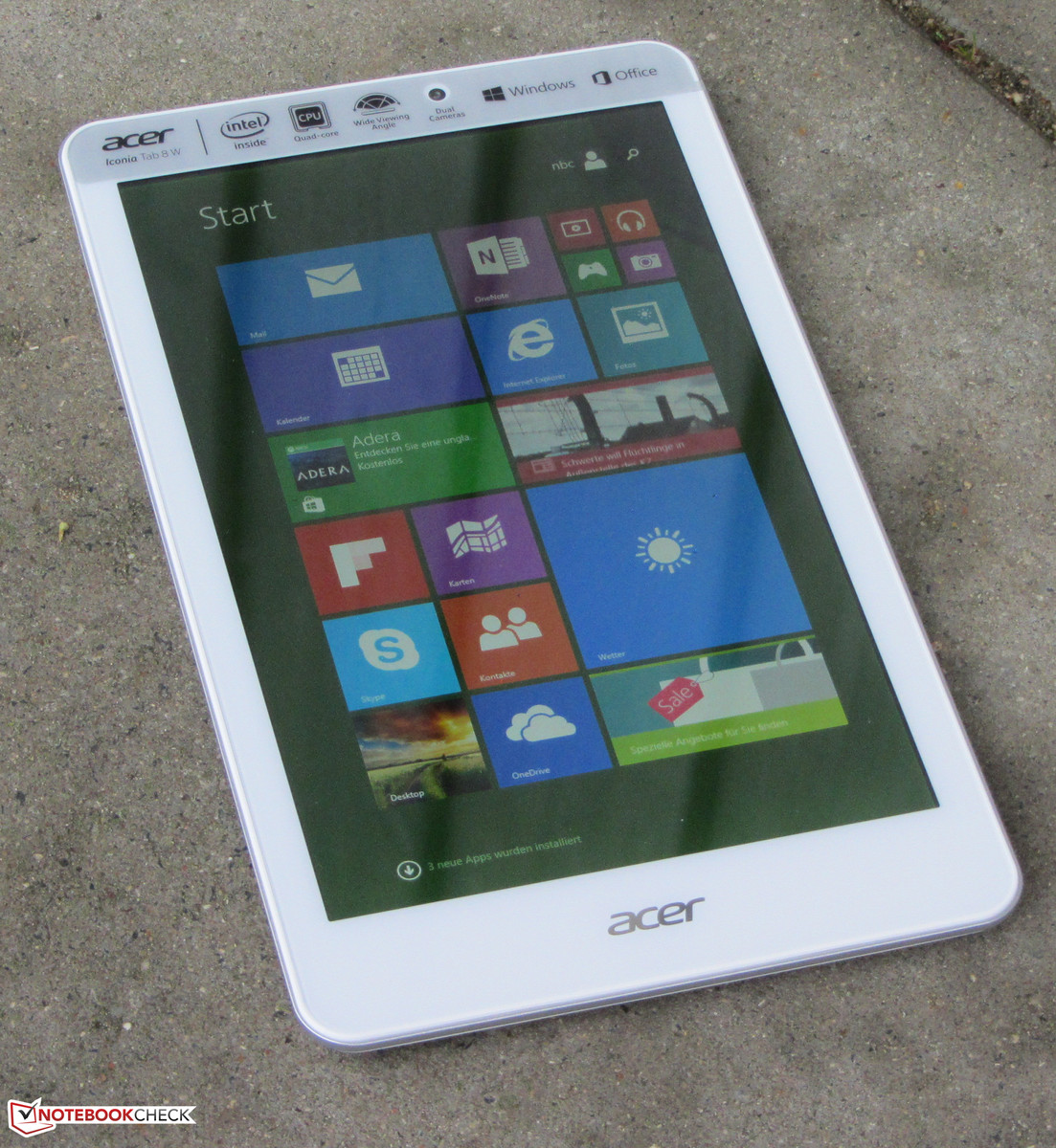 Acer Iconia Tab 8 W W1 810 16HN Tablet Review