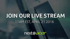 2016 Next@Acer launch event teaser now live