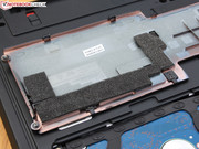 The HDD is not attached directly...