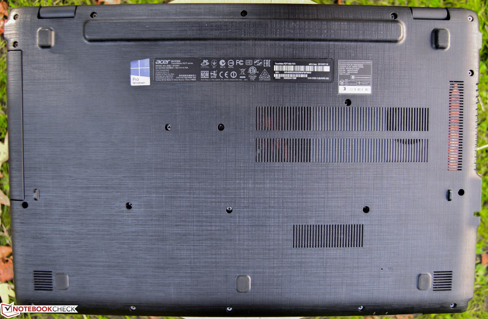 Acer Travelmate P277 Mg 7474 Notebook Review Reviews Original New Toshiba Integrated Circuit O 5200 1 Of See More Full Resolution