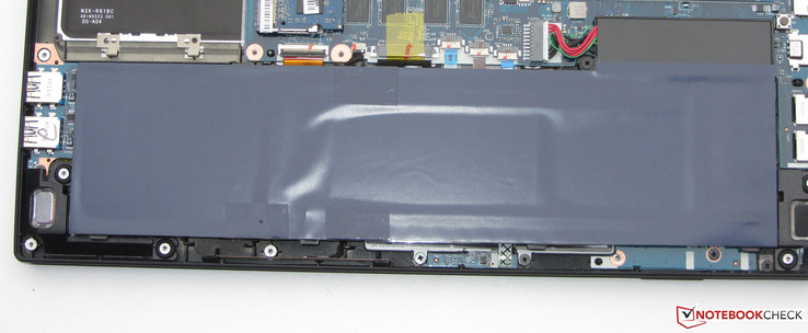 It is possible to swap the battery. It is secured with one screw.
