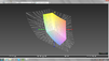 Colorspace coverage Adobe RGB