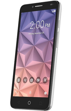 Alcatel OneTouch Fierce XL Android smartphone with Polaroid photo software