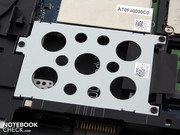 An unoccupied HDD slot gives you potential for more storage space (Slot 1).