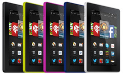 Amazon Fire HD tablets 2014 refresh, Amazon third global tablet maker