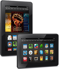 Amazon Kindle Fire HDX tablets now on Verizon Wireless