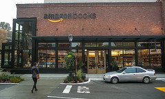 First Amazon bookstore, located in Seattle; new Amazonbooks location to open in New York City