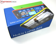 The packaging of the Lumia 625 includes...