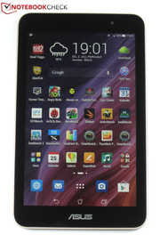 7 inches, quad-core SoC, 200 Euros price tag: The Asus Memo Pad HD 7 ME176C.
