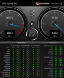 Systeminfo Blackmagic Disk Speed Test