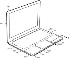 Apple MacBook patent shows large customizable touchpad keyboard