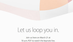 Apple confirms March 21st keynote
