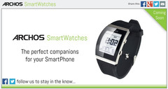 Archos smartwatches will be unveiled at CES 2014